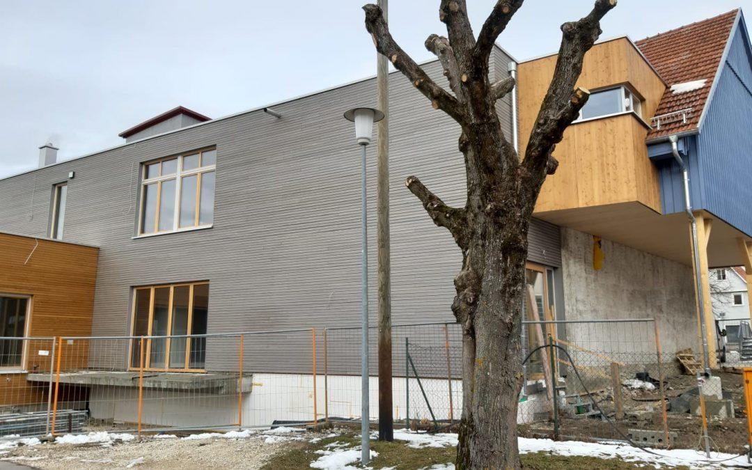 Neubau mit Anbau